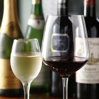 月替わりのワイン・カクテルをお楽しみに!