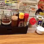 Yokohamaramenouka - 卓上調味料
