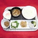 ドッグカフェ ミー - モーニングサービス:和朝食プレート