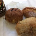 ラ ロッタ ベーカリー - 「はしっこ」と名付けられた、足らずのパン生地たちで作られたミニパンセット(2017.8.31)