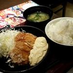 金の蔵 - チキン南蛮定食600円