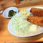 串かつ新世界 - 日替り:チーズinハムカツ定食