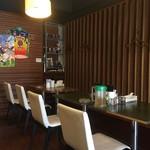 ラーメンめろう - 喫茶店みたいな雰囲気です