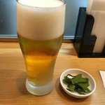 十割蕎麦 千花庵 - ビール