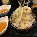 十割蕎麦 千花庵 - 天ぷら