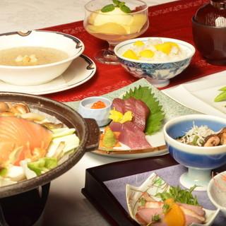 [和洋中の旬の逸品!]ディナー限定のプランメニュー(要予約)