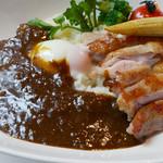 72354095 - 岩手県産いわい鶏モモ肉のカリー