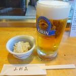72356359 - 生ビールとお通し