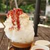 喫茶ニワトリ - 料理写真:苺みるく氷(小・590円)