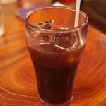 ビフテキ家あづま - アイスコーヒー