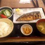 竹乃屋 - 炭火焼 焼サバ定食