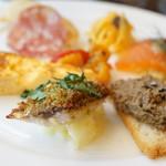 リストランテ シーヴァ - 料理写真:前菜盛り合わせ