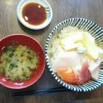 和処つたもり - 料理写真:ランチの海鮮丼