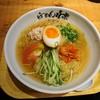 利尻らーめん味楽 - 料理写真:2017年8月 冷製昆布鶏塩らーめん 950円(9月上旬まで)