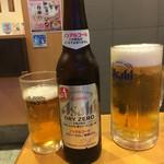 徳川 - ドリンク写真:生ビールとノンアルコールで乾杯です❤️