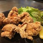 お好み焼 鉄板焼 徳川 - 徳川特製鶏の唐揚げ〜(*^▽^*)❤️