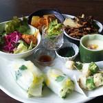 農カフェ コナヤ - 料理写真:週替り野菜御膳1200円税別