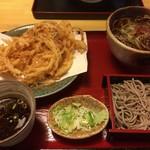 そば処 山﨑 - 両蕎麦800円
