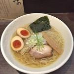 きみの - 塩(大盛) + 味玉
