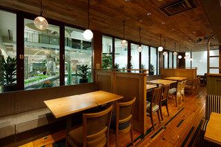 梅田 阪急三番街 リバーカフェ -