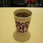 マクドナルド - 「プレミアムローストアイスコーヒー/M」です。