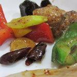 普天河 - 野菜をアップ