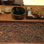 72370294 - 煮豚と新生姜のかき揚げそば切り(1100円)