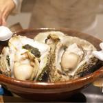 御幸町 田がわ - ☆牡蠣
