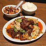 京華樓 - 四川回鍋肉、お試し麻婆豆腐