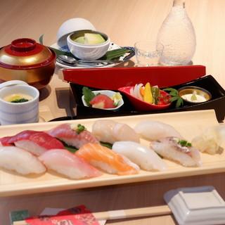 お得なランチもご用意♪新鮮なお寿司をお気軽にご堪能ください。