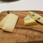 サン・ヴァンサン - サービスでいただいたチーズ