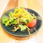 焼はまグリル@stylo∞ - ランチセット 1300円 のサラダ
