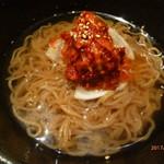 炭火焼ホルモン ぐう - 特製黒冷麺