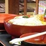 柏屋食堂 - 煮込みカツ丼上(普通のカツ丼)