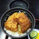 柏屋食堂 - 名代ソースカツ丼850円