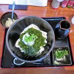 かめ吉 - 料理写真:めかぶおろしうどん