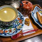 茶房 ぎゃらりー かさの家 - 「コーヒー」(540円)。上品。