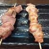 元気一番!ホルモン道場 こだわりやま - 料理写真:△タンと鶏モモ 各130えん
