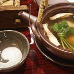 北新地 銀杏 - 松茸土瓶蒸し 1,706円 2017年8月