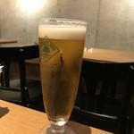 自然派ビストロCORE - ハートビール!