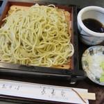 長寿庵 - 料理写真:シンプルな・・・。