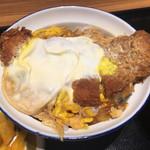 とんかつ 銀座梅林 - 銀座梅林のカツ丼780円