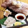 寿司ろばた 八條 - 料理写真:【9月限定】落ちハモ 『ハモ刺しの岩塩炙り』