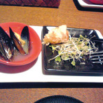 フードカフェ レガーメ - 料理写真:付き出し(ムール貝etc.)
