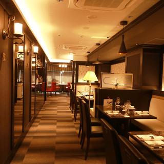 デートやディナーに最適な大人の空間で厳選中華料理を