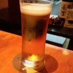 月の音 - 乾杯ビール
