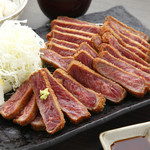 牛カツのタケル - 牛カツ1ポンド定食