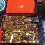 うなぎ 田川  - 料理写真:鰻重特上 6000円(税別)