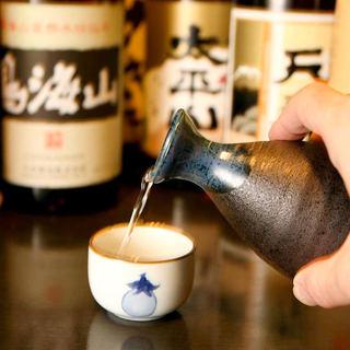 種類豊富な秋田の地酒