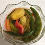 フレスガッセ - 季節の野菜の漬物